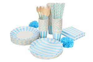 Cups, Plates, Cutlery