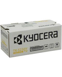 Kyocera TK-5230Y Toner Cartridge, Yellow