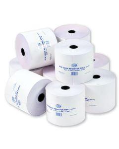 FIS FSCS57X70NCR Cash Register Roll - 2 Ply, 57 x 70mm (Pack of 10)