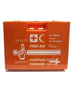 FastCare GKB 300 First Aid Box Kit, 100 Persons
