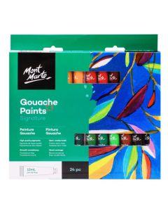 Mont Marte Signature Gouache Paints -12ml x  24 Colors