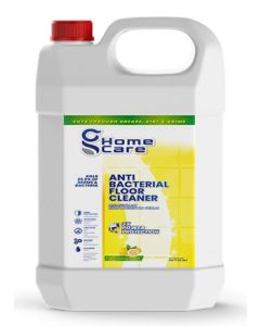 SanitizME Antibacterial Floor Cleaner - Lemon, 5 Liter (Box of 4)