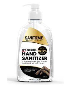 SanitizME Premium Gel Sanitizer - Oud, 500l (Box of 24)