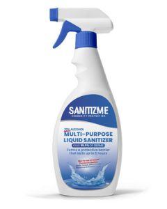 SanitizME Premium Multi-Purpose Liquid Sanitizer, 750ml (Box of 18)
