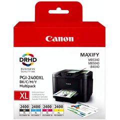 Canon PGI-2400XL High Yield BK/C/M/Y Multipack Ink Cartridge