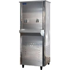 Super General SGAA33T2 Two Tap Water Cooler, 30 Gallon