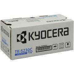 Kyocera TK-5230C Toner Cartridge, Cyan