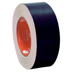 Atlas AS-BTC2025-BK Cloth Tape - 50mm x 25m, Black