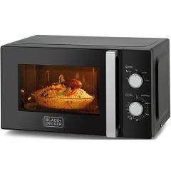 Black & Decker MZ2010PB5 Microwave Oven - 20 Liter, Black