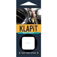KLAPiT Universal Magnetic Cell Phone Mount, Black