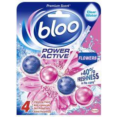 Bloo Power Active Rim Block Toilet Cleaner -  Flowers, 50 Grams