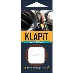 KLAPiT Universal Magnetic Cell Phone Mount, Metallic Brown