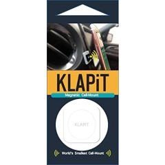 KLAPiT Universal Magnetic Cell Phone Mount, White