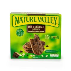 Nature Valley Oats & Chocolate Biscuit - 25 Grams x 16 Pieces