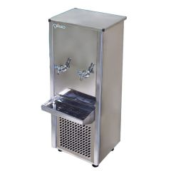 Climate+ Stainless 2 Tap Water Cooler / Dispenser, 25 Gallon
