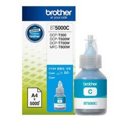 Brother BT5000C Genuine Ink Bottle, Cyan