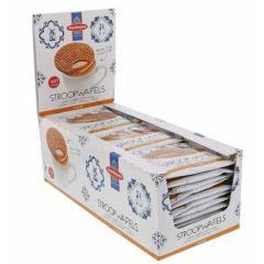Daelmans Stroopwaffel Caramel - 39 Grams x 36 Single Wrapped Wafers