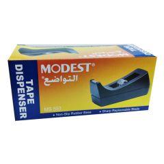 Modest MS 553 Tape Dispenser with Non-Slip Rubber Base, Black