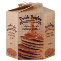 Double Delights Dutch Caramel Waffles - Original, 252 Grams