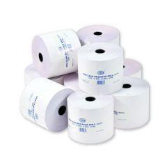 FIS FSCS70X60NE Adding Machine Rolls - 70 x 60mm, White (Pack of 10)