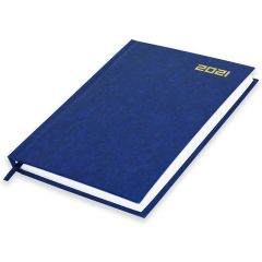 FIS FSDI21E21BL English Diary 2021 - A5, Blue