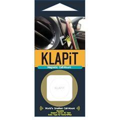 KLAPiT Universal Magnetic Cell Phone Mount, Metallic Gold
