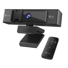 J5 Create JVCU435 USB 4K ULTRA HD Webcam with 5x Digital Zoom Remote Control