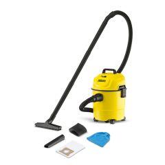Karcher WD 1 Multi-Purpose Wet & Dry Vacuum Cleaner, 1000 Watts