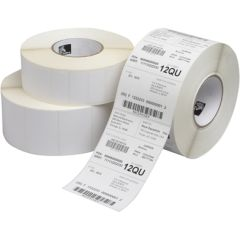 Zebra 880003-025D Z-Perform 1000T - Uncoated Thermal Transfer Paper Label - 38 x 25mm, 2580 Labels (Box of 12)
