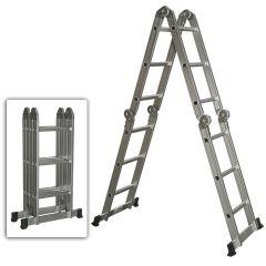 Penguin MPL-12 Multi-Purpose Aluminium Ladder, 150Kg Capacity