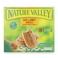 Nature Valley Oats & Honey Biscuit - 25 Grams x 16 Pieces