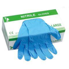 Nitrile Gloves Powder Free , Large (Box of 100) x 10