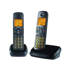 Gigaset A500 Duo Cordless Phone, Black (Pack of 2)