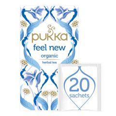 Pukka Feel New Organic Herbal Tea - Aniseed Fennel & Cardamom, 2 Grams x 20 Bags