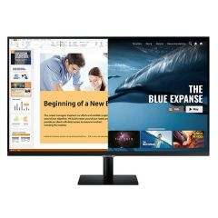 """Samsung LS27AM500NMXUE Smart Monitor With Mobile Connectivity, 27"""""""