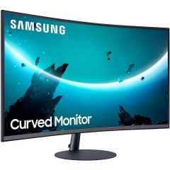 """Samsung LC27T550FDMXUE Curved Monitor with Optimal Curvature 1000R,  27"""""""