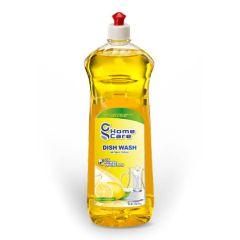 SanitizME Antibacterial Dish Wash - Lemon, 1 Liter (Box of 15)