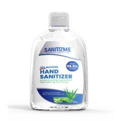 SanitizME Premium Gel Sanitizer, 250ml (Box of 36)