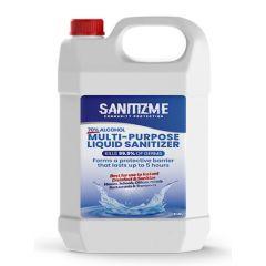 SanitizME Premium Multi-Purpose Liquid Sanitizer, 5 Liter (Box of 4)