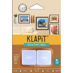 KLAPiT Spare Steel Tapes Without Magnet (Pack of 6)
