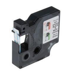 Dymo S0720530S 45013S Tape - 12mm x 3m, Black on White