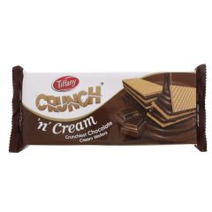 Tiffany Crunch 'n' Cream Chocolate Cream Wafers, 153 Grams