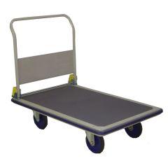 "Prestar NG-401 8"" Folding Handle Platform Trolley, 500 Kg Capacity"