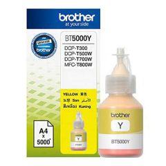 Brother BT5000Y Genuine Ink Bottle, Yellow
