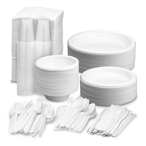 Disposable Cups, Plates, Cutlery